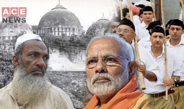 Modi Promises To Build A Grand Temple at Babri Mosque Site