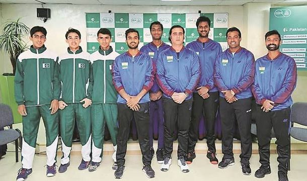 Inexperienced Pakistan to Face India in Davis Cup Today