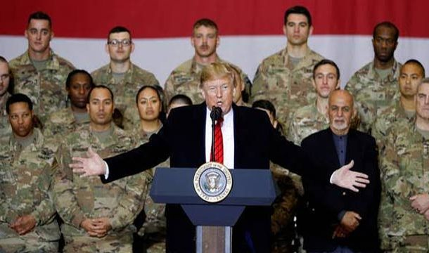 Trump Makes Surprise Afghan Visit, Hints New Peace Deal