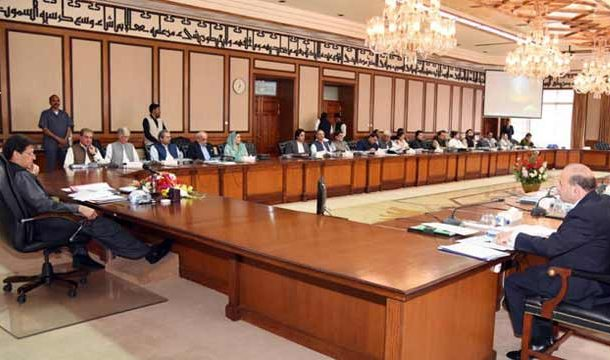 Imran Khan Chairs Federal Cabinet Meeting Today