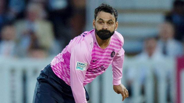 ICC Shared Muhammad Hafeez's Delivery with a Funny Caption