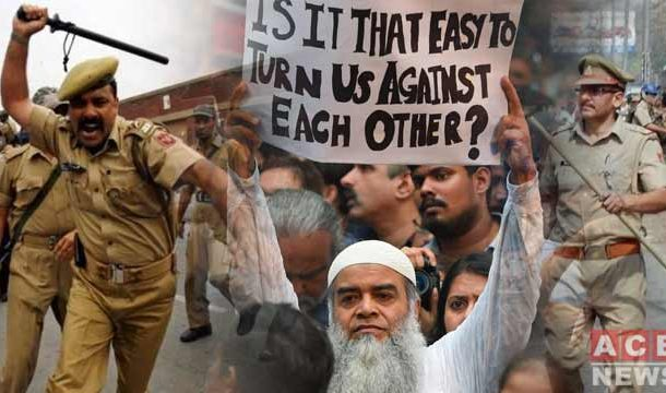 Muslims Under Attack in Utter Pradesh for Opposing Citizenship Law
