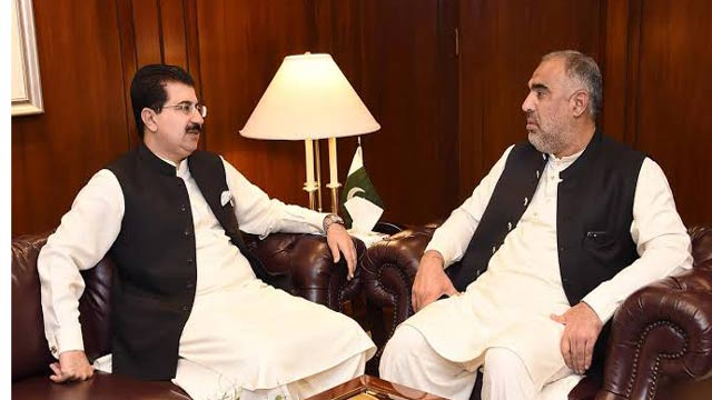 Sanjrani, Asad Qaiser to Discuss ECP Members' Appointment Today