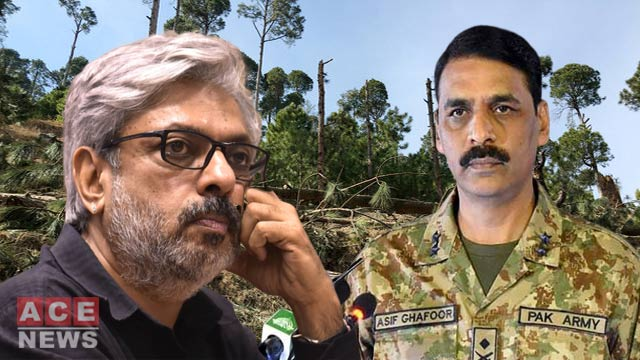 DG ISPR Takes a Jibe at Indian Director Over Film on Balakot Incident