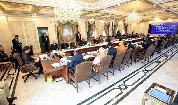 PM Imran Chairs Federal Cabinet Meeting in Islamabad
