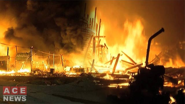 Nine Yachts Gutted as Fire Engulfs Karachi Fish Habour