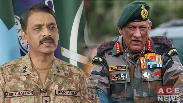 DG ISPR Hits Back at Indian Army Chief Over Provocative Remarks