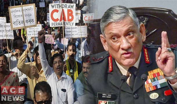 Indian Army Chief's Remarks on Citizenship Law Triggers Row