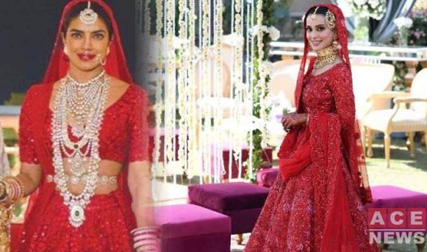 Twitter Thinks Iqra Aziz's Wedding Dress is Exact Copy of This Bollywod Diva