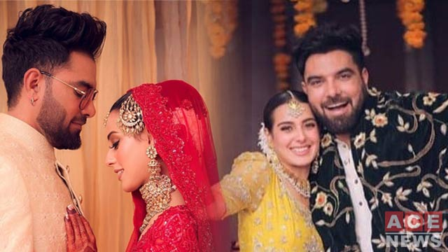 In Pictures; Iqra Aziz And Yasir Hussain Tied the Knot
