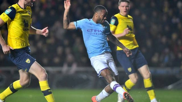 Man City to Lock Horns with Man United in League Cup Semis