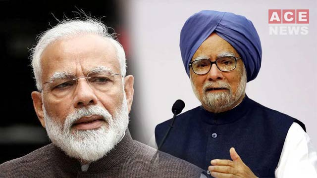 Manmohan Slams Modi Govt. as India's GDP Growth Hits over 6-Year Low