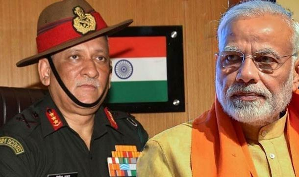 India Appoints Retiring Army Chief as First Chief of Defense