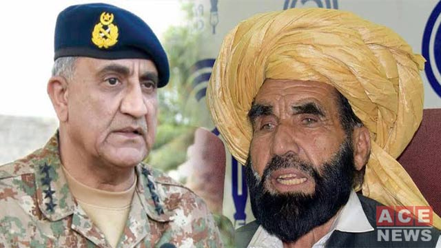 Army Chief Expresses Grief on Demise of Naqeebullah's Father