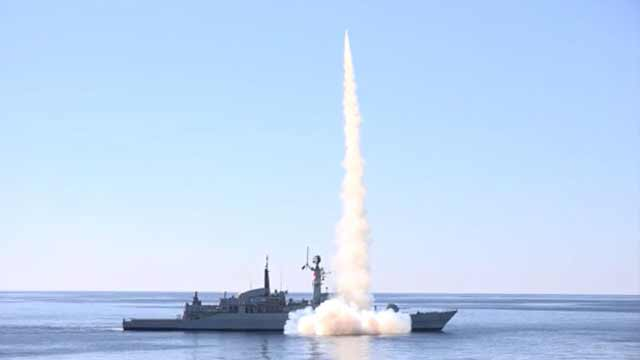 Pak-Navy Successfully Test-Fires Anti-Ship Missiles