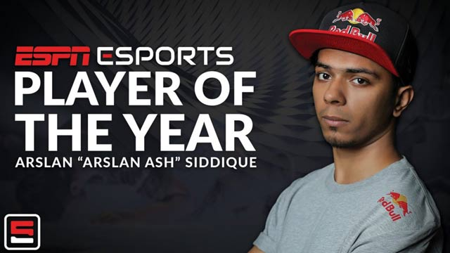 Pakistani Gamer Clinches Title of 'Esports Player of the Year'