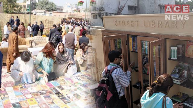 Pakistan's First Street Library Inaugurated in Karachi