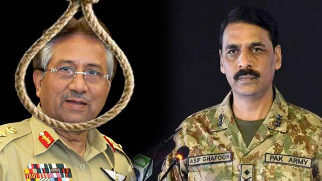 DG ISPR Terms Treason Case Judgment as Unethical and Inhumane
