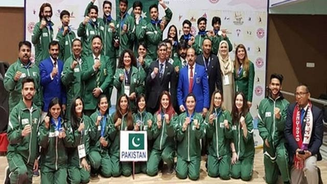 Pakistani Athletes Bag 110 Medals in South Asian Games