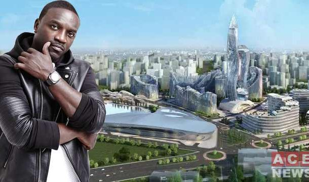 American Singer, Akon Becomes Owner of his Senegalese City