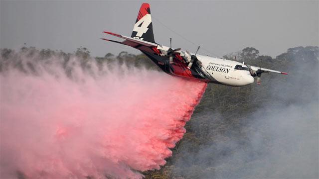 Canadian Air Tanker Crashes While Fighting Australia Bushfires