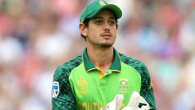 Quinton de Kock Awarded South African Cricketer of Year
