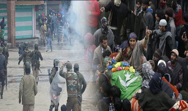 One Kashmiri Martyred in India's State Terrorism