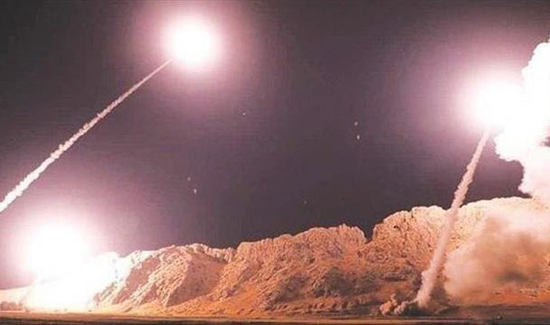 ME Tensions: Iran Fires Missiles at U.S. Forces in Iraq