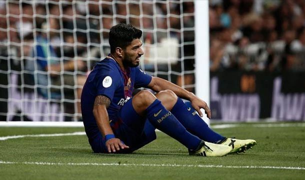 Barcelona Star Luis Suarez Ruled out for 4 Months