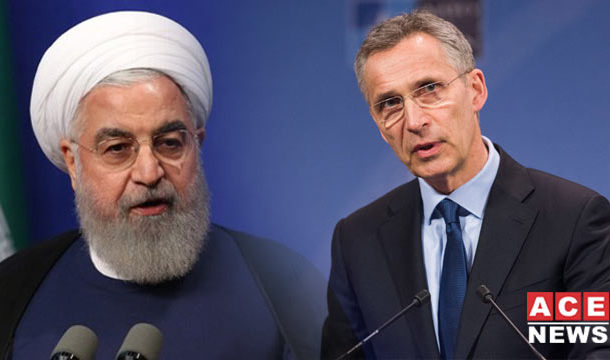 NATO Issues Stern Warnings to Iran, Backs US
