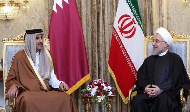 Qatar's Emir Visits Iran over De-escalation of ME Tensions