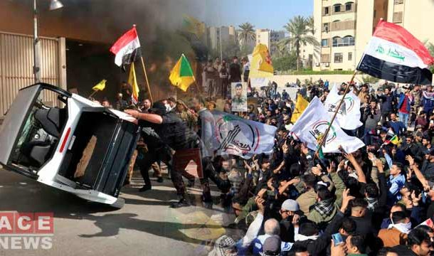 Thousands of Iraqi Protesters Attacked American Embassy in Baghdad