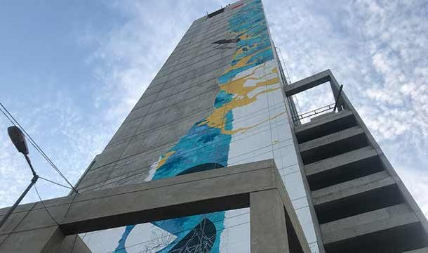 World's Tallest Mural by Single Artist Inaugurated at Karachi's Centrepoint