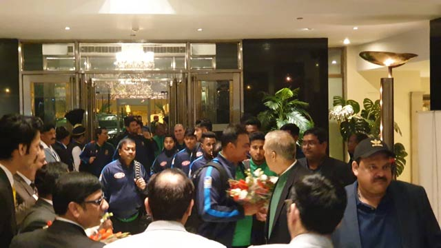 After 12 years, Bangladesh Cricket Team Lands in Pakistan