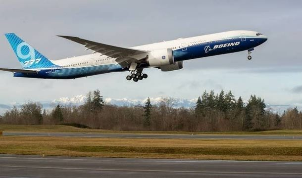 World's Largest Twin-Engine Jet Successfully Completes Maiden Flight