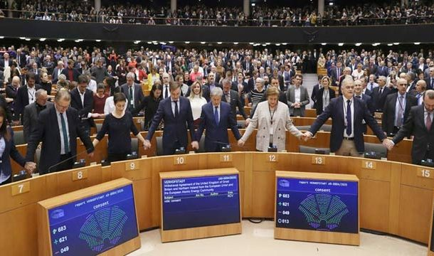 European Parliament Finally Approves Brexit Agreement