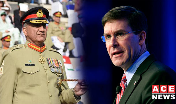US Defence Secretary Contacts COAS, Discusses ME Situation
