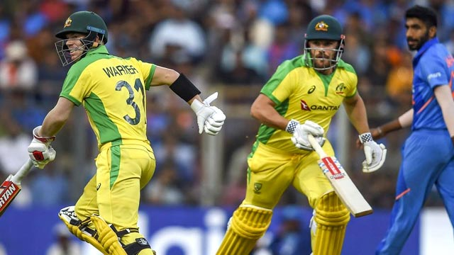 Australia Stuns India by 10 Wickets in First ODI
