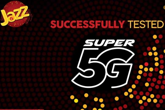 Jazz Launches First Ever 5G Trial in Pakistan