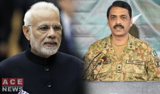 DG ISPR Shows Mirror to Modi over War Threats
