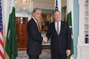 FM Qureshi, Pompeo Discuss Regional Tensions