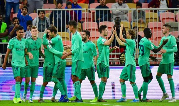 Real Madrid Qualifies for Spanish Super Cup Final