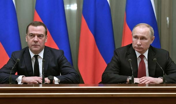 Entire Russian Govt. Resigns as Putin Proposes Reforms