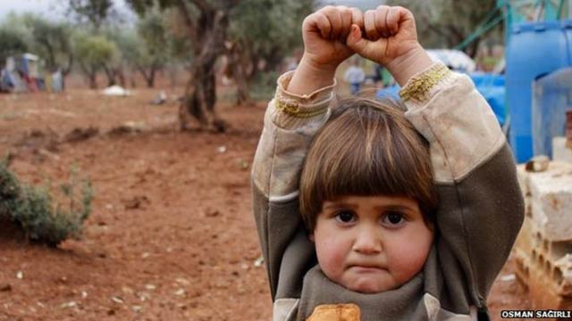 4 year old syrian girl
