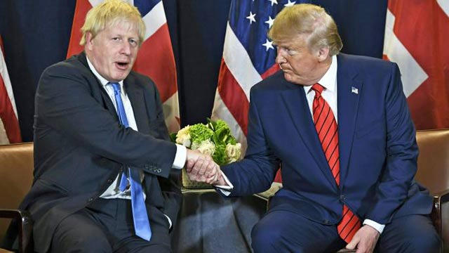 Trump, Johnson Agree on a 'Trump Deal' for Iran