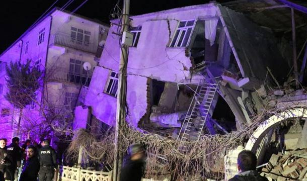 19 Dead, Several Injured as 6.8 Magnitude Quake Hits Turkey