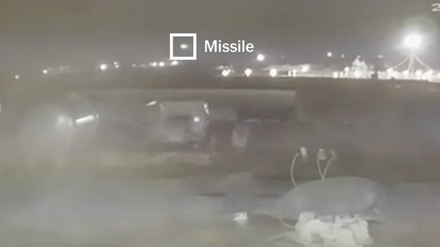 Watch: Ukraine Plane Hit by Two Iranian Missiles
