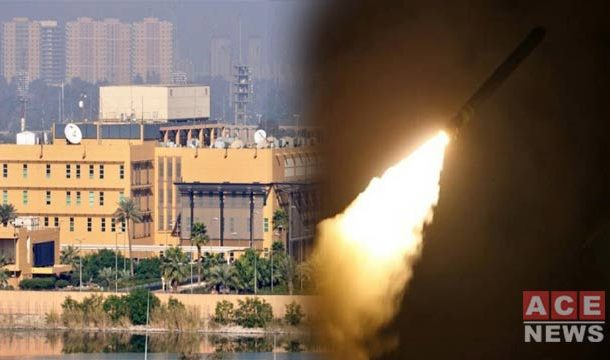 One Injured as Rockets Hit US Embassy in Iraq
