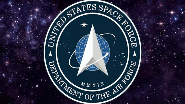 Trump Unveils New Space Force Logo