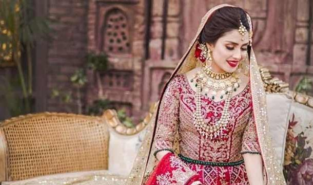 Ayeza Khan Looks Gorgeous in Bridal Shoot